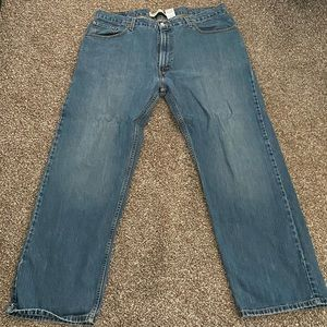 Men's Levi 559 relaxed straight fit size 40x32